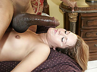 Trisha craves this huge donkey cock then stuffs it in her hot twar